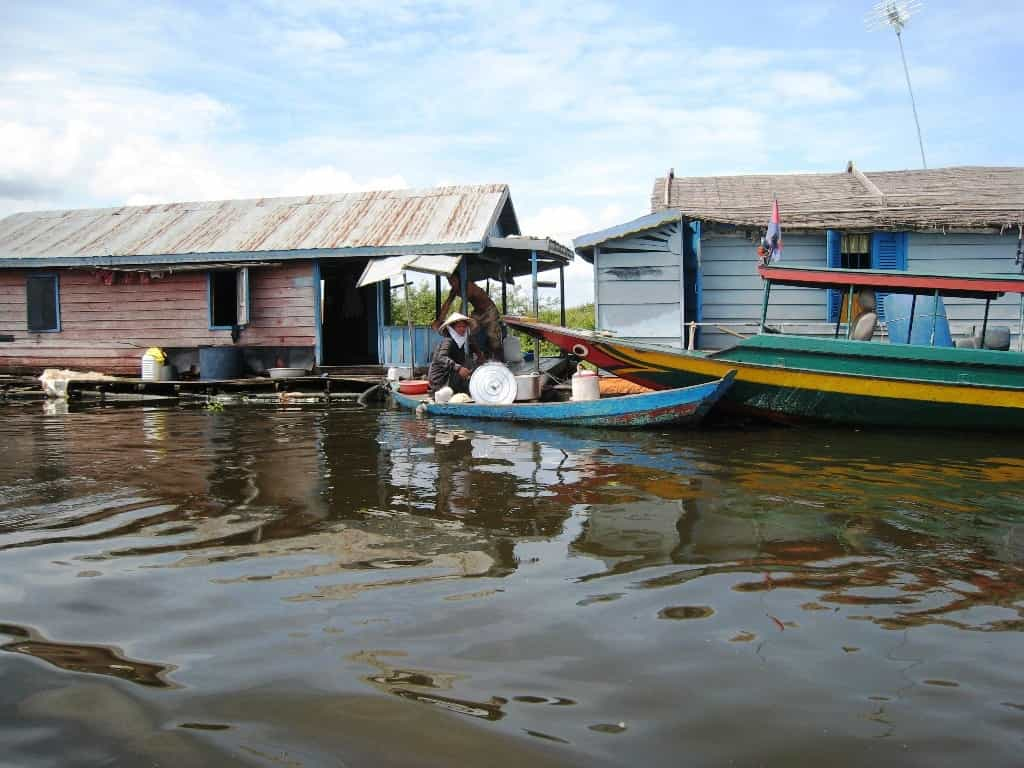 Kampong Luong, les villages flottants